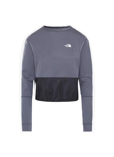 The North Face Train Pullover Kadın Sweatshirt Gri Renkli
